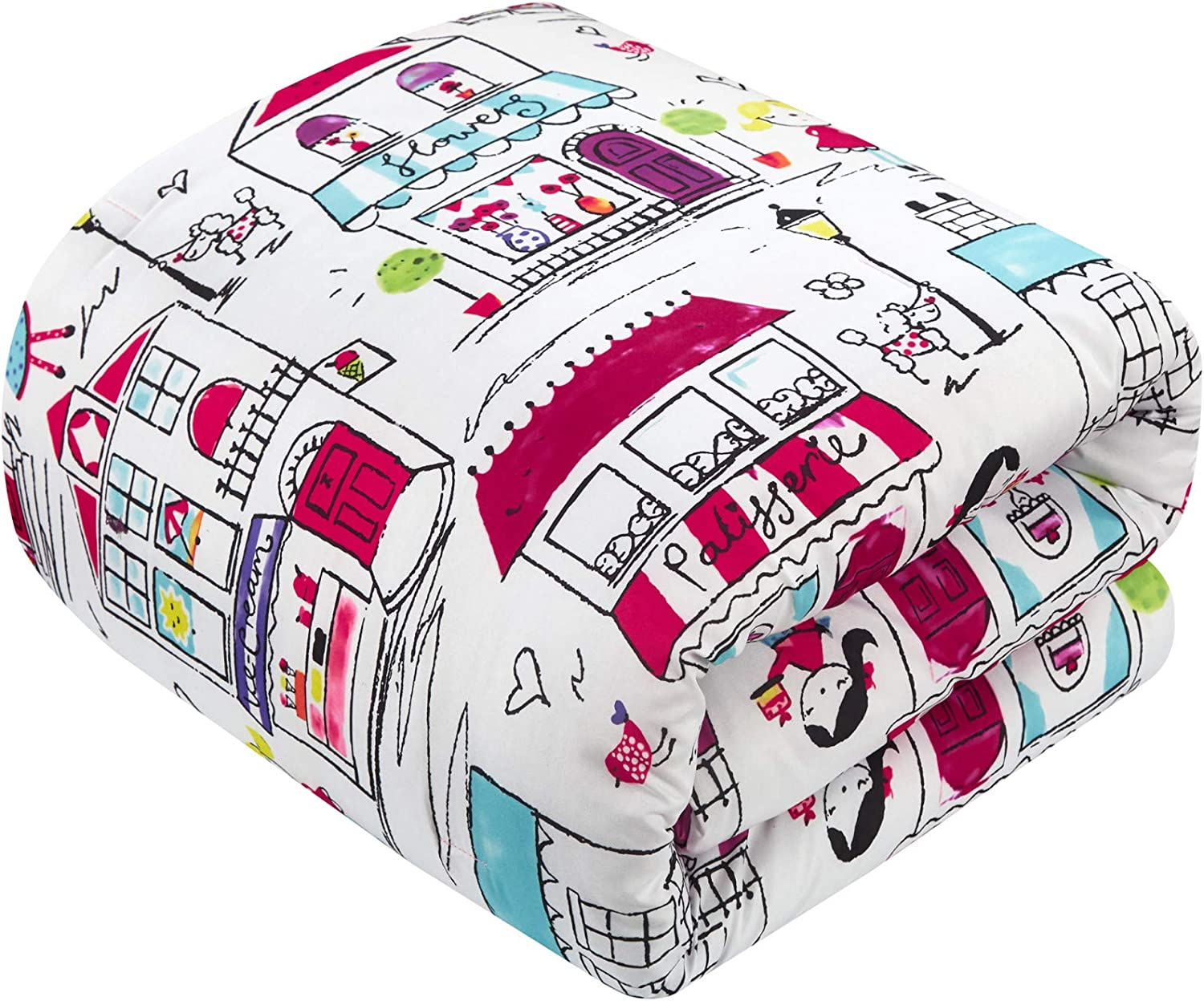 Chic Home Race 5 Piece Comforter Set High Speed Cars Planes Boats Theme Youth Design Bedding-Throw Blanket Decorative Pillow Shams Included Full