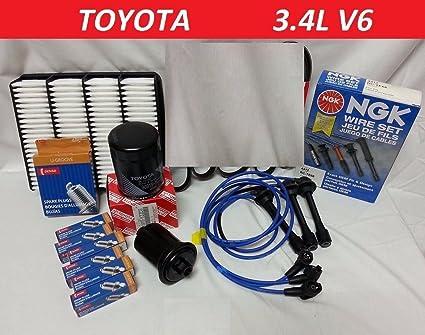 amazon com ngk wire set spark plugs air fuel oil kit toyota 4runner 1994 4Runner