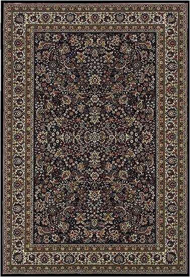 Amazon Com Oriental Weavers Ariana 213k8 Area Rug 10 X 12 7 Black Furniture Decor