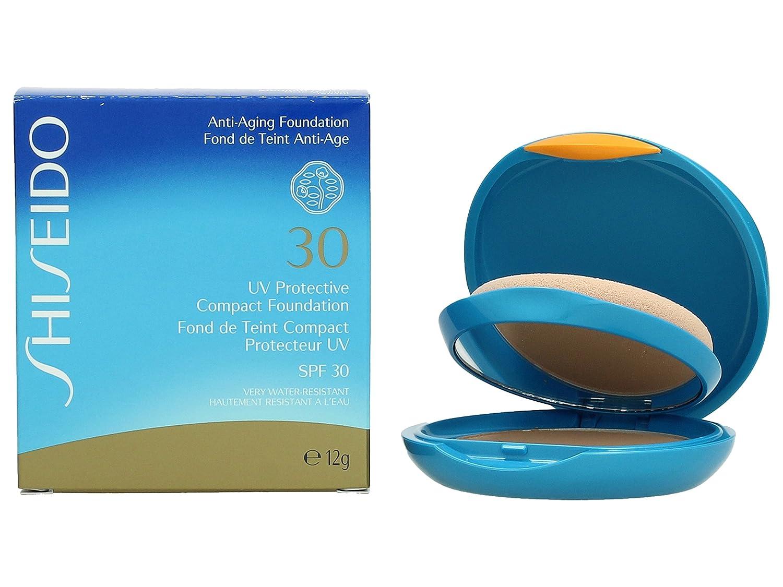 Shiseido UV Protective Compact Foundation SPF30 medium ochre SP40 fondotinta compatto solare Shiseido Italy KS40295 SHI00097