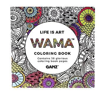 WAMA Adult Coloring Books