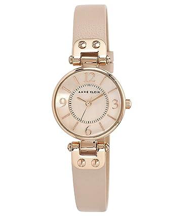 Anne Klein Women S Manhattan Quartz Watch With Rose Gold Dial