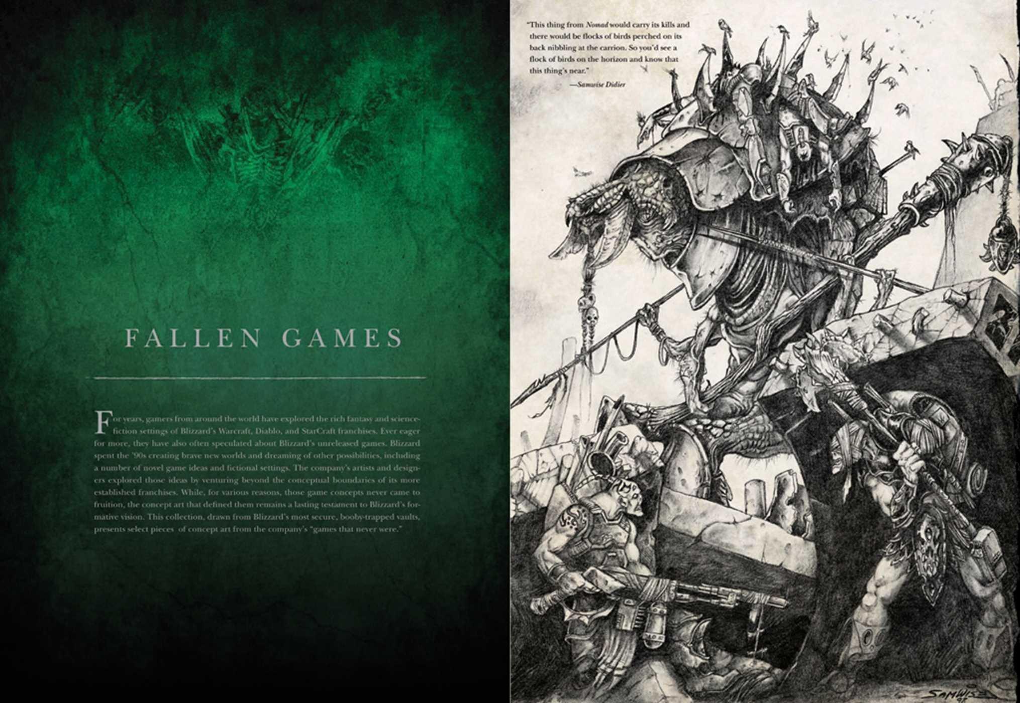 The Art Of Blizzard Entertainment Nick Carpenter 8601200670738
