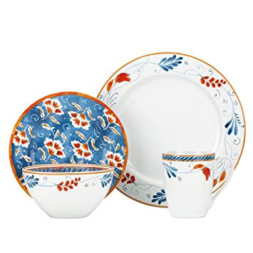 Gorham Kathy Ireland Home Spanish Botanica 4-Piece Place Setting  sc 1 st  Amazon.com & Amazon.com | Gorham Kathy Ireland Home Spanish Botanica 4-Piece ...
