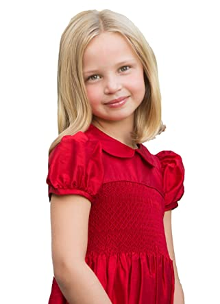 Amazon Strasburg Children Red Dresses For Little Girl Smocked