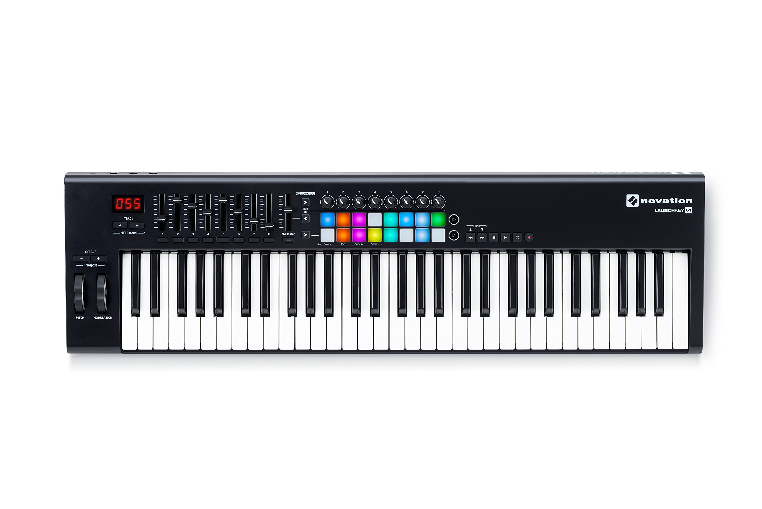 Novation Launchkey 61 USB Keyboard Controller for Ableton Live, 61-Note MK2 Version by Novation (Image #2)