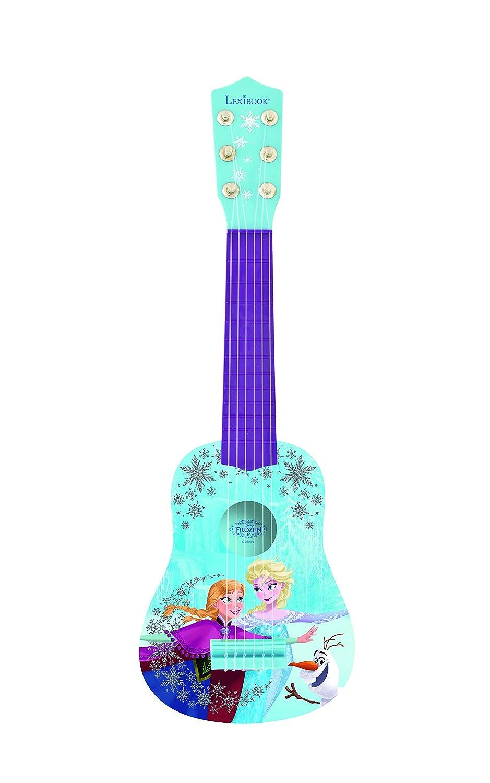 Disney Die Eiskönigin Elsa & Anna Kinder Gitarre 53 cm - blau LexiBook K200FZ