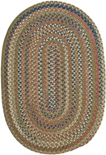 product image for Colonial Mills Floor Decorative Cedar Cove Olive Area Rug Oval 5'x8'