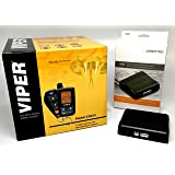 Click & ADD Viper 5305V 2-Way LCD Security Alarm & Remote Car Starter & Directed DB3 XPressKit DEI Databus All Combo Bypass/Door Lock Interface Bundle Package