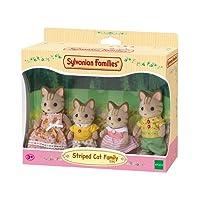Sylvanian Families - 5180 - Famille Chat Tigre - Mini Poupée