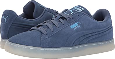 8a49bb46cf10 Image Unavailable. Image not available for. Colour  Puma Men s Suede Emboss  Ice ...