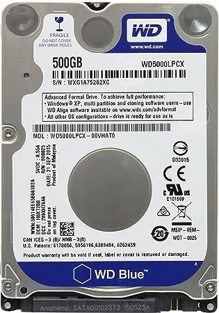 Western Digital 500GB 2 5