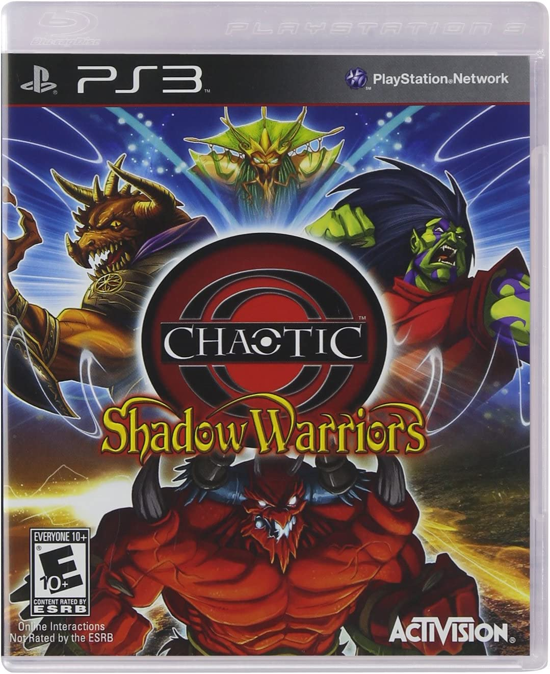 Amazon.com: Chaotic: Shadow Warriors - Playstation 3: Video ...