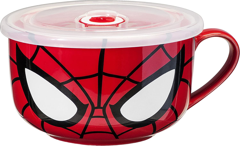 "Marvel Spider-Man Character Mug,Multicolor,1"""