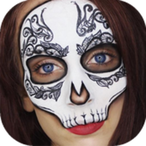 Easy Halloween Makeup Tutorial For Girls (Halloween Makeups Ideas)