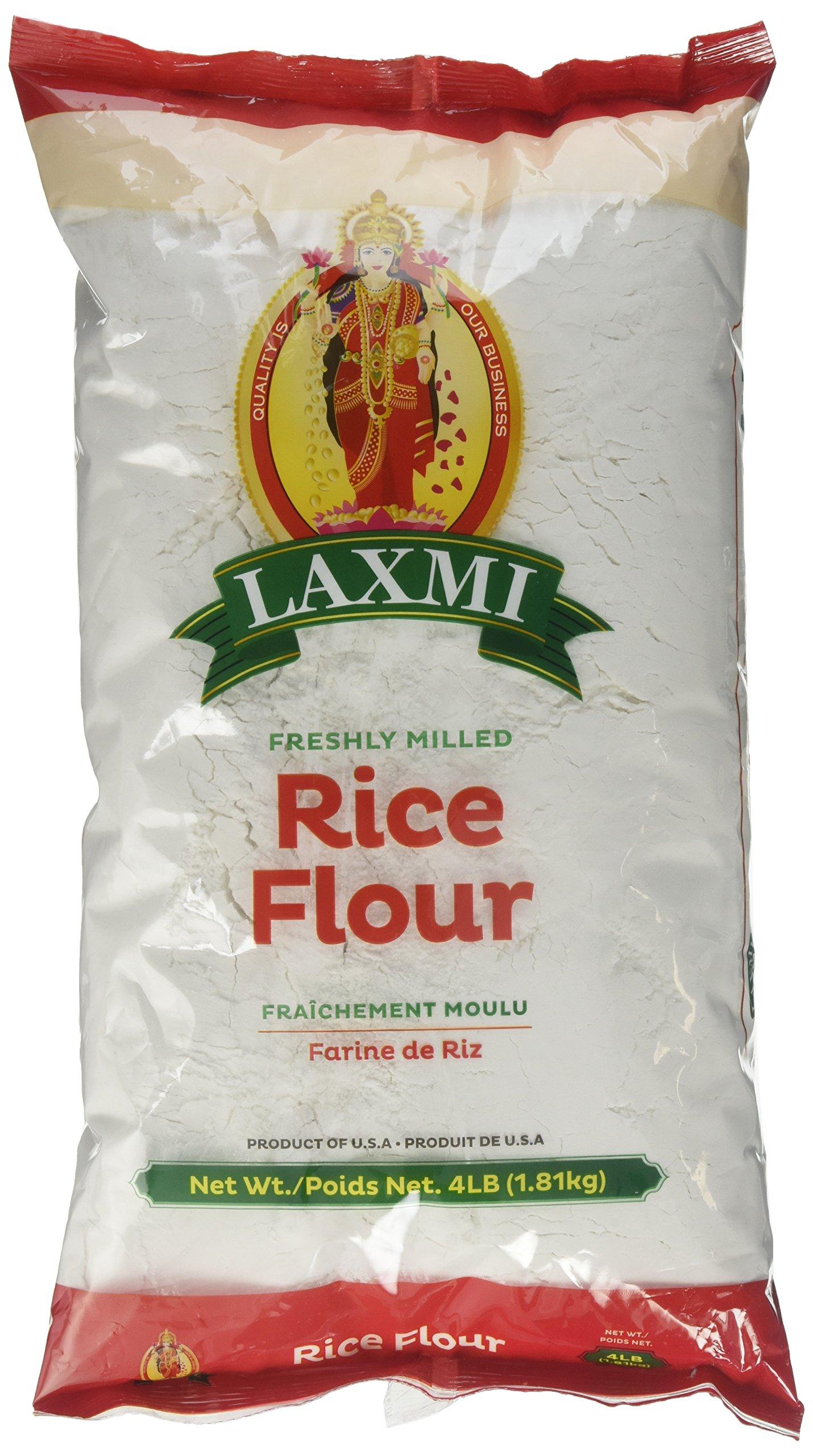 Laxmi, Rice Flour, 4 Pound(LB)