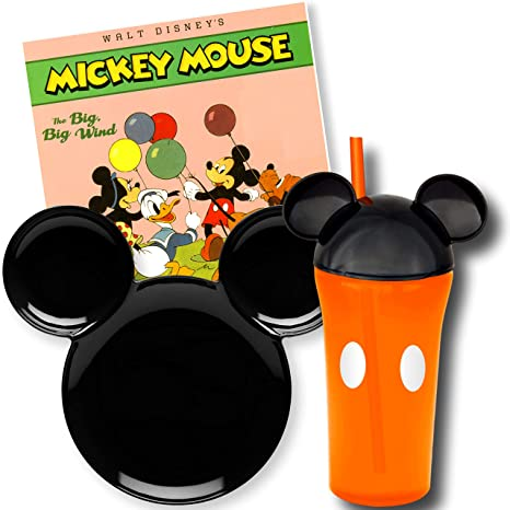 Amazon.com: Disney - Vajilla infantil, Mickey Mouse: Baby