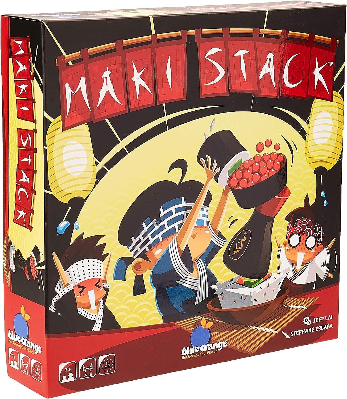 Blue Orange BLUMAK01 Maki Stack, varios colores , color/modelo surtido: Amazon.es: Juguetes y juegos