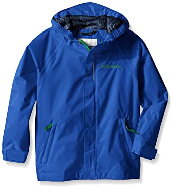 886c1dc418bed Columbia Toddler Boys' Fast and Curious Rain Jacket, Hyper Blue Invizza  Print, ...