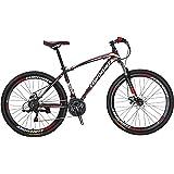 Extrbici X1 マウンテンバイク MTB 自転車 27.5インチ 炭素鋼フレーム シマノ21段変速 ディスクブレ-キ 通学通勤用