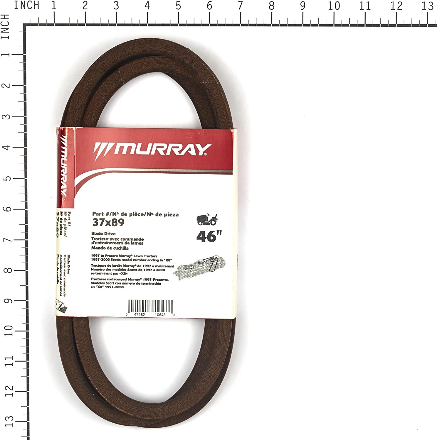 Murray 37X89MA 46 Primary Lawn Mower Blade Belt 97 & Up