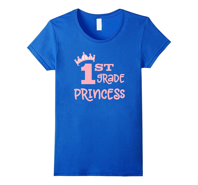 First Grade Princess School T-Shirt-Art