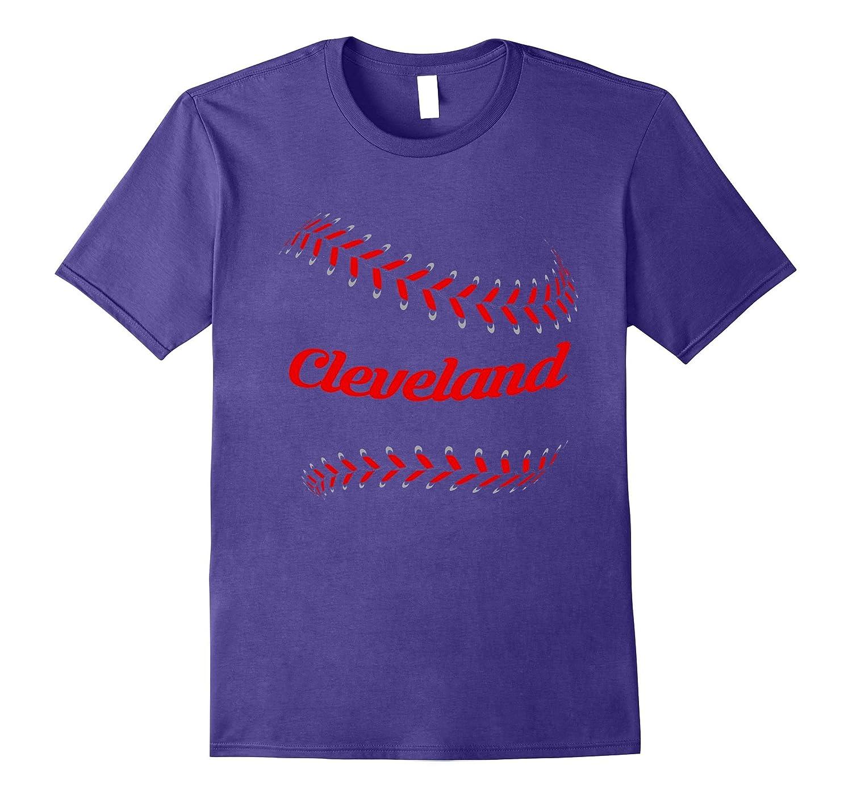 Cleveland Ohio Baseball T-Shirt Gifts Fans Tees-T-Shirt