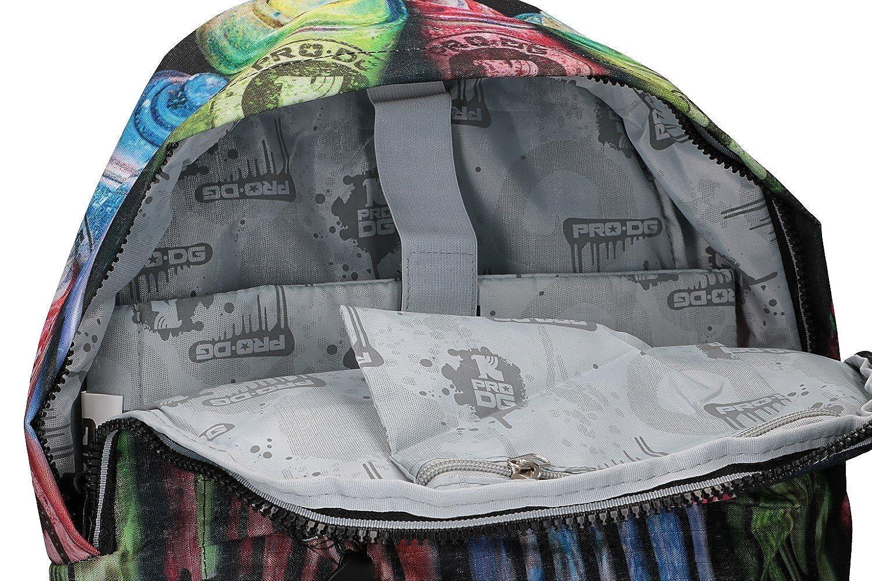 PRO-DG Mochila chico bolsa de ocio escolar negro VZ789: Amazon.es: Ropa y accesorios