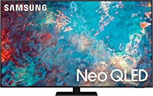 SAMSUNG 55-inch Class QN85A Series – Neo QLED 4K Smart TV with Alexa Built-in (QN55QN85AAFXZA, 2021 Model)