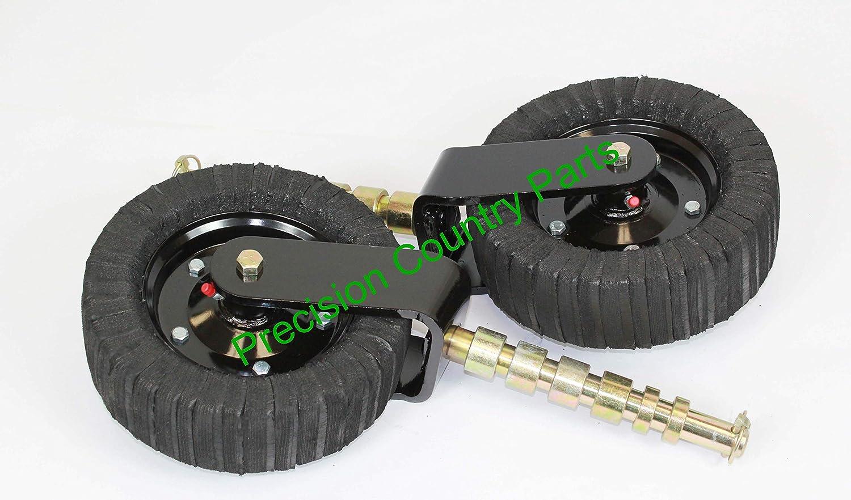 Amazon.com: Conjunto de ruedas de 10 pulgadas con acabado ...