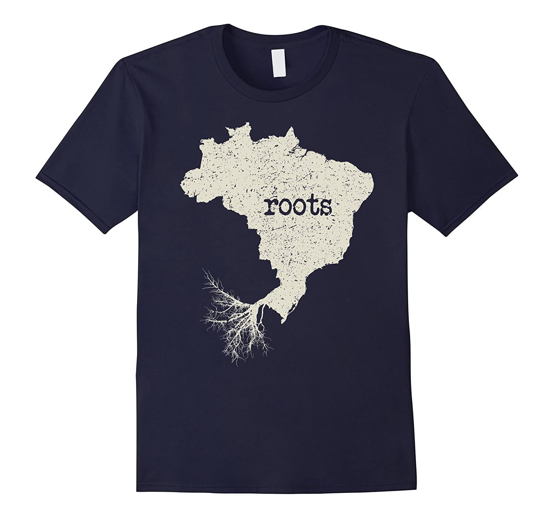Brazil Roots Shirt: Love Native Born State T-Shirt-FL