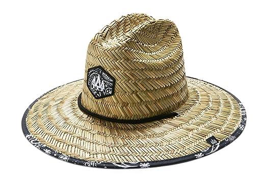 d8fac7cf3252f Hemlock Hat Co. Men s Bandit Straw Hat at Amazon Men s Clothing store