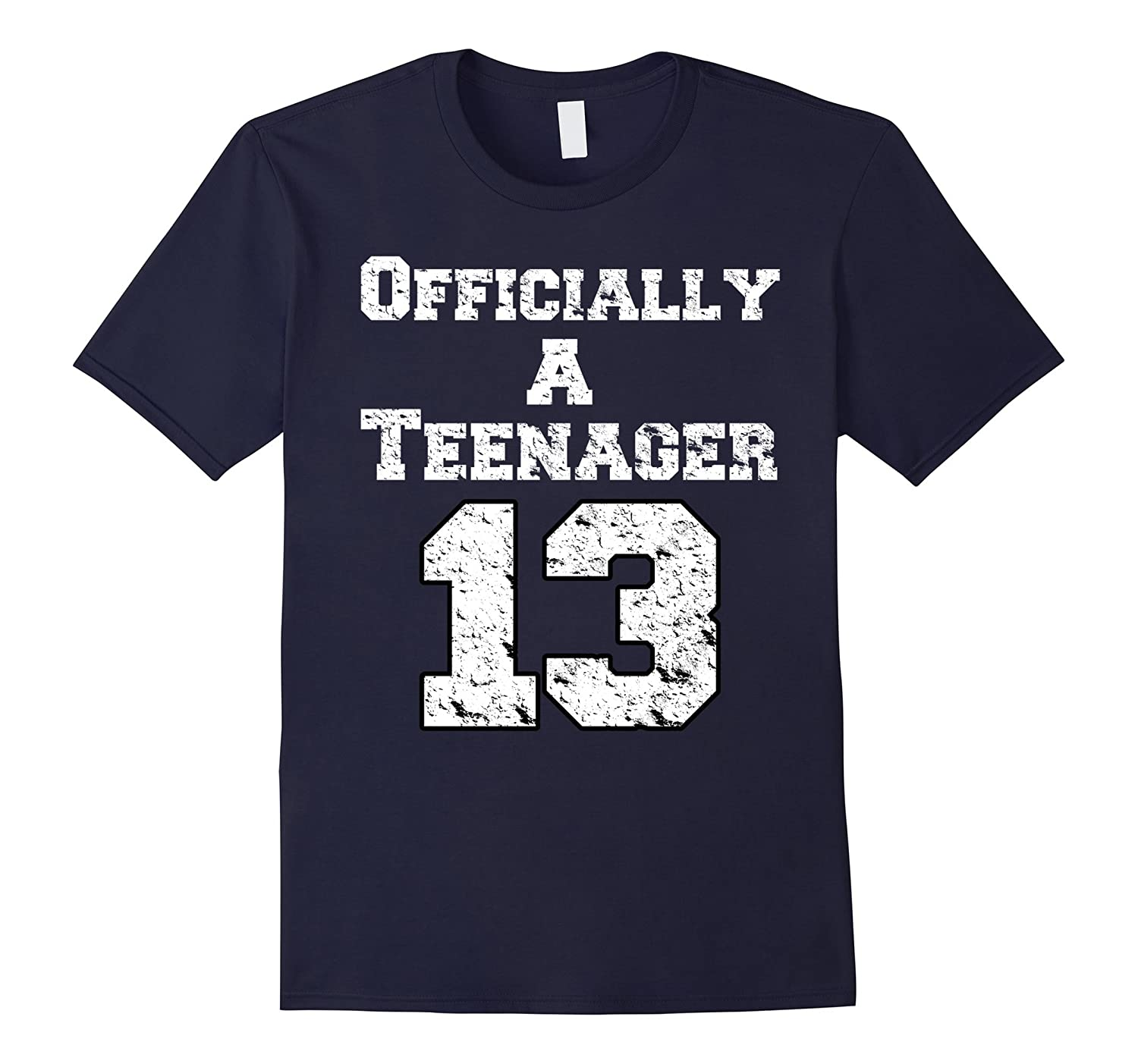 Official Teenager T Shirt Funny 13yr old Birthday T Shirts-ANZ
