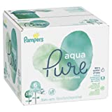 Amazon Price History for:Pampers Aqua Pure 6X Pop-Top Sensitive Water Baby Wipes, 336 Count