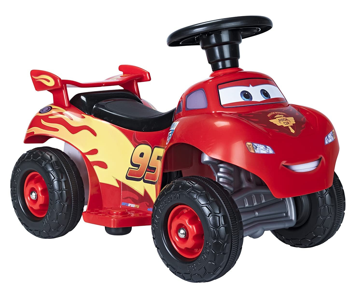 Disney FEBER 6 V Cars Mc Queen Quad (1 - 3 Years) 0720007