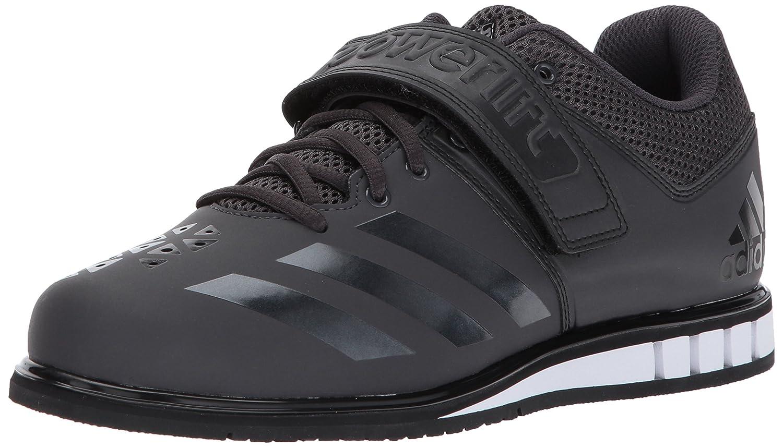 adidas Men's Powerlift.3.1 Cross Trainer Utility Black/Black/White ... 2DAY SHIP