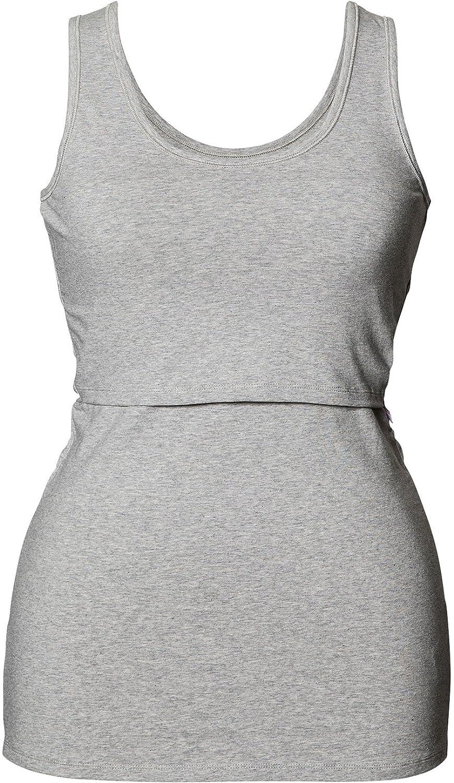 Boob Organic Cotton Maternity Nursing Singlet Tank Top Boob Design DM04874