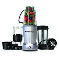 NutriBullet 1200W 12-Piece Pack - Silver NUTRITION EXTRACTOR, Silver, N12-1207