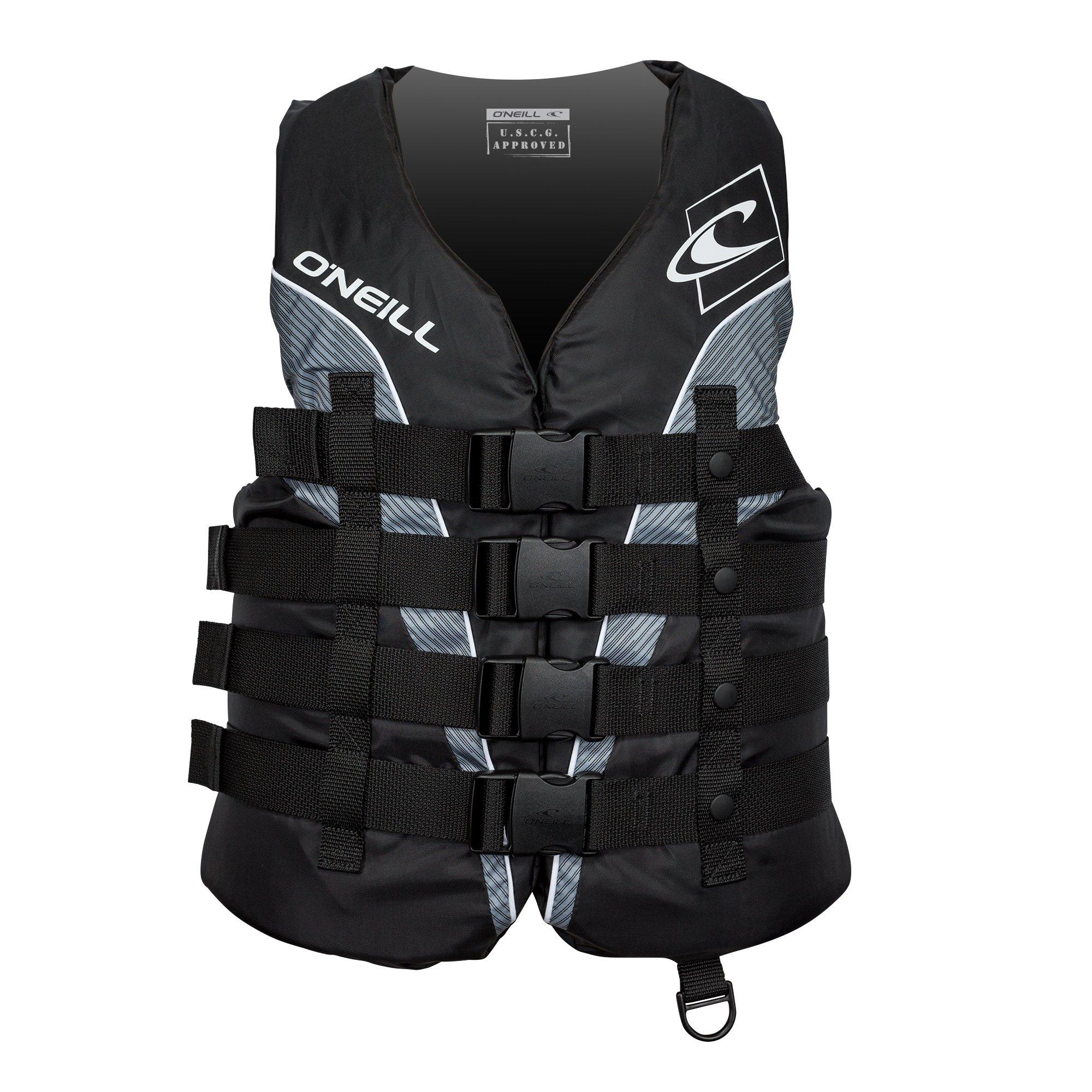 O'Neill   Men's Superlite USCG Life Vest ,Black/Black/Smoke/White,Medium by O'Neill Wetsuits (Image #1)