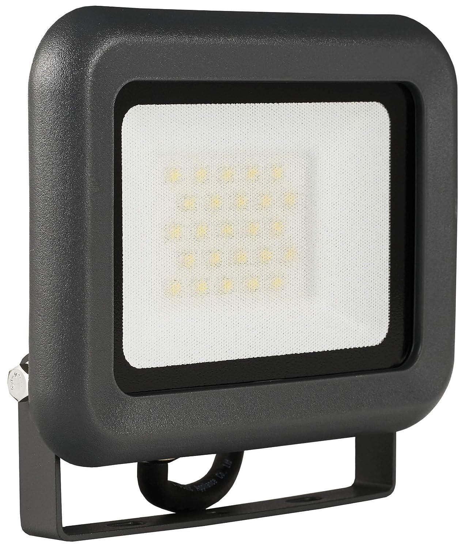 LUMIRA LED Fluter 20W, Ersatz für 200W Flutlicht-Strahler, Außen-Leuchte für Innen- und Außenbereich, IP65, Warmweiß [Energieklasse A+] Warmweiß