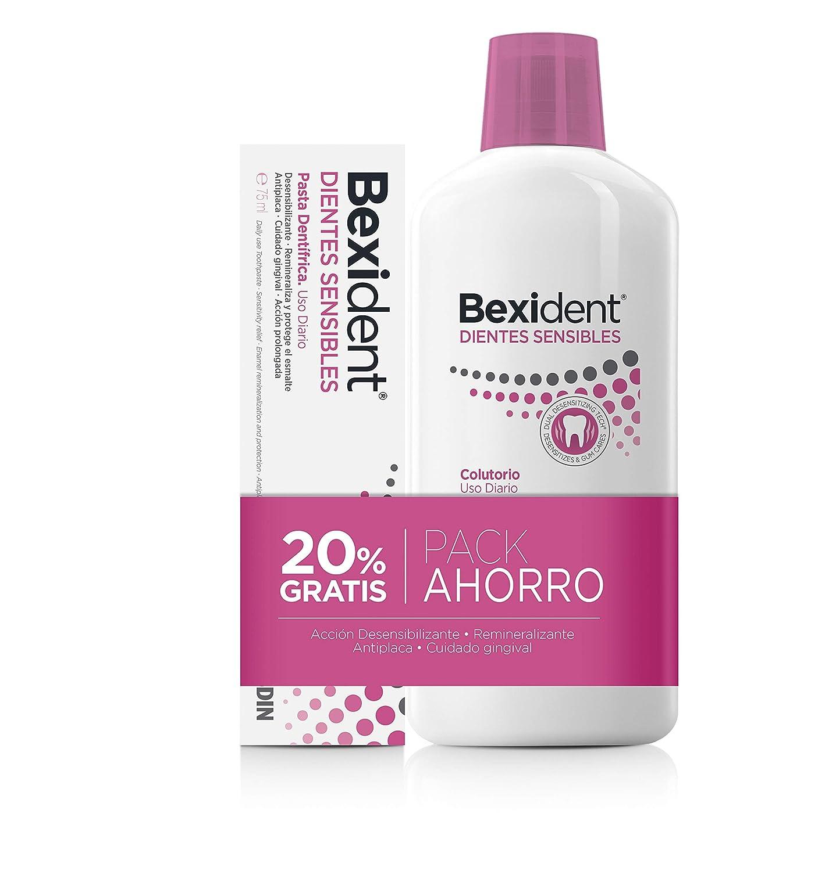 Isdin Bexident Dientes Sensibles Pack ahorro 20% EXTRA Colutorio 500ml+Pasta 75ml: Amazon.es