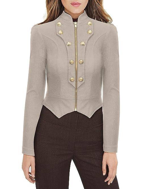 超级炫酷!军装式小西装外套仅 $20.99!