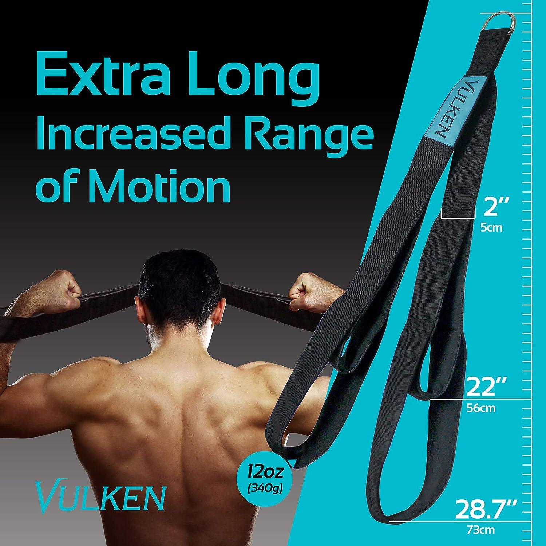 Vulken Tricep Corde Attache C/âble de fixation 2 tailles en un Extra Long Corde Triceps Extension Sangles de Gym Equipment Poign/ées dentra/înement /à la maison pour bandes de r/ésistance.