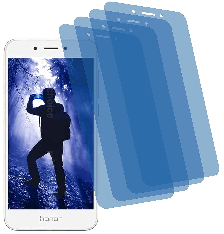 4 x Crystal Clear Transparente - Protector de pantalla para Huawei ...
