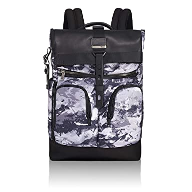 Tumi Men s Alpha Bravo London Roll Top Backpack 956dbba63cd18