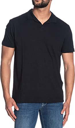 SELECTED Polo Manica Corta uomo nera: Amazon.es: Ropa y ...