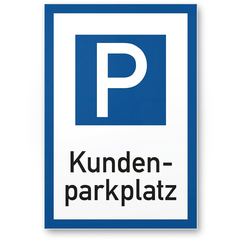 Privado Aparcamiento parkverbot - Letrero (Blanco de color ...