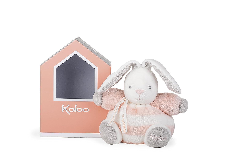 Kaloo Bébé Pastel - Peluche Coniglietto 18 cm, Grigio e Crema, K960084 Juratoys IT