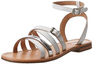 2390affb3f9998 Geox D Sozy B, Sandales Bride Cheville Femme: Amazon.fr: Chaussures ...