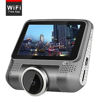 """WiFi 3.0 """"en coche Dash Cam 1080p cámara para salpicadero de coche 220 degree"""